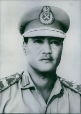 Portrait of Major- General Gaafar Mohamed Nimeri, 1970.