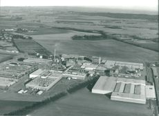 Company Findus aerial view