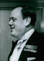 Christopher John Soames smiling, 1961.