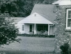 A view of a house.