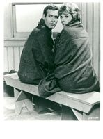 """Actors Paul Newman and Julie Andrews in the movie """"A leak in the curtain"""""""
