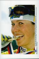 Magdalena Forsberg won World Cup gold and the overall world cup in shooting.