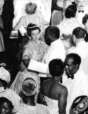 Princess Alexandra, The Honourable Lady Ogilvy dancing with the man.
