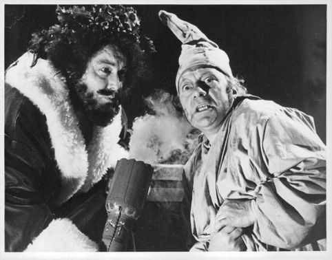 """A scene from """"A Christmas Carol,"""" a BBC Television series."""