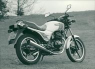 Motor cycle kawasaki z250t scorpion.