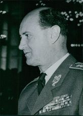 Portrait of Czechoslovak Military Leaders: General Otakar Rytir, 1969.