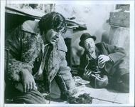 Alan Bates as Yakov Bok in a scene from the movie