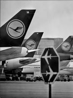 Article image from Frankfurt Airport, home base for Lufthansa.