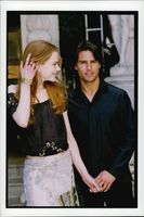 "Nicole Kidman and Tom Cruise at the premiere of ""Eyes Wide Shut""."