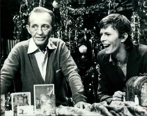 Bing Crosby and Bowie.