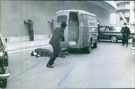 A shoot out.  1964