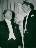 Swedish Academy's annual Dr Ingwar Andersson and Harry Martinsson