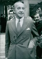 Jean-Noel De Lipkowski pictured standing outside the street with his hand in his pocket.