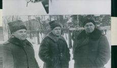 Picture of Russian military officers.