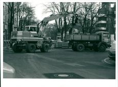 Road construction 1989