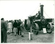 Royal Norfolk Show: 1910 Tractor
