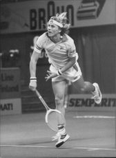 Per Hjertquist plays in Stockholm Open