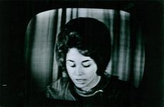 Portrait of a woman during Kassem's reign in Iraq. 1963