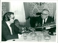 political party with Hon james callaghan.
