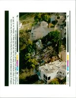 The 1994 Northridge earthquake USA:two homes in the studio city area.