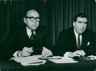 Roy Jenkins and Denis Healey