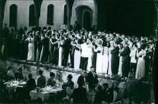 1964  A photo of people dancing in the party.