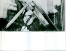 Napoleon looking out through window, War and Peace (Voyna i mir) 1967.