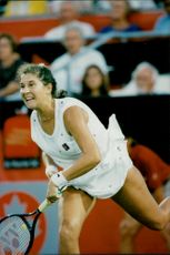 Monica Seles in action in Toronto