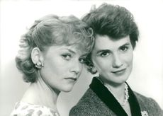 """Isabelle Huppert and Miou-Miou in """"French Friends"""""""