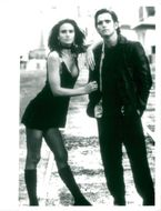 "Matt Dillon along with Kelly Lynch in the movie ""Drugstore Cowboy""."