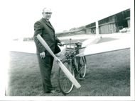 Pedal Powered Aircraft:MR W.L Manuel