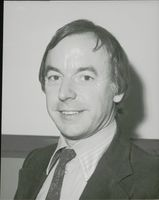 Portrait of Clive Soley.