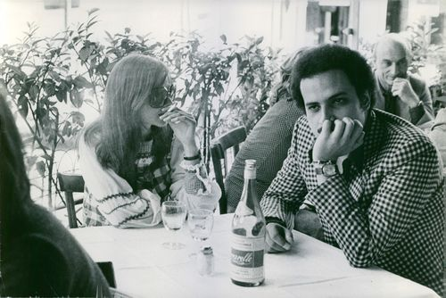 Ewa Aulin and Ibrahim Houssa.