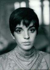 Portrait of Liza May Minnelli.
