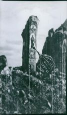 War damage to the mosque in Kiev 1943