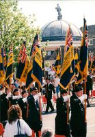 Royal British Legion rally