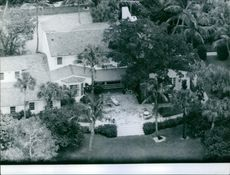 An areal view of John Foster Dulles' house.
