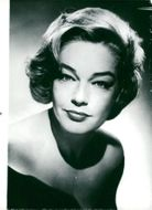 Portrait of Simone Signoret
