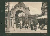 Tivoli in Copenhagen from the early 20th century