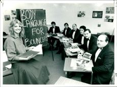 A Classroom of Bouncers getting gentle image.