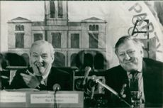 Tony Benn and Roy Hattersley.