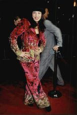 """Actress Fran Drescher at the premiere of the film """"EDtv"""" at Universal City"""