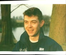 Gordon Buxton, the Oxford cox of the Boat Race 1993