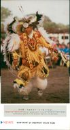 A Comanche Buffalo Dance like this one will be performed at the Midwest State Fair.