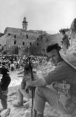 People in the Western Wall.