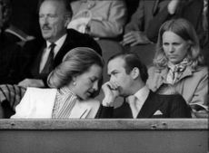 Prince and Princess Michael of Kent at Wimbledon