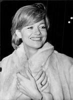 Portrait of Judy Geeson.