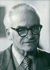 Portrait of Barry Morris Goldwater.