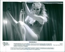 A scene from the film Showgirls (1995).