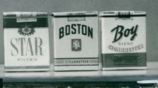 Cigarette brands Star, Boston and Boy